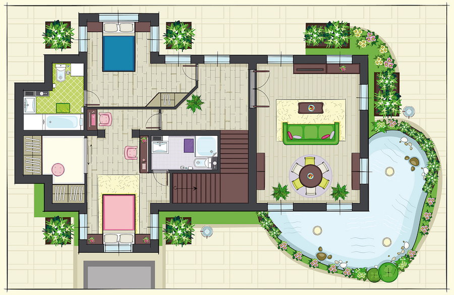 floor plan of new house