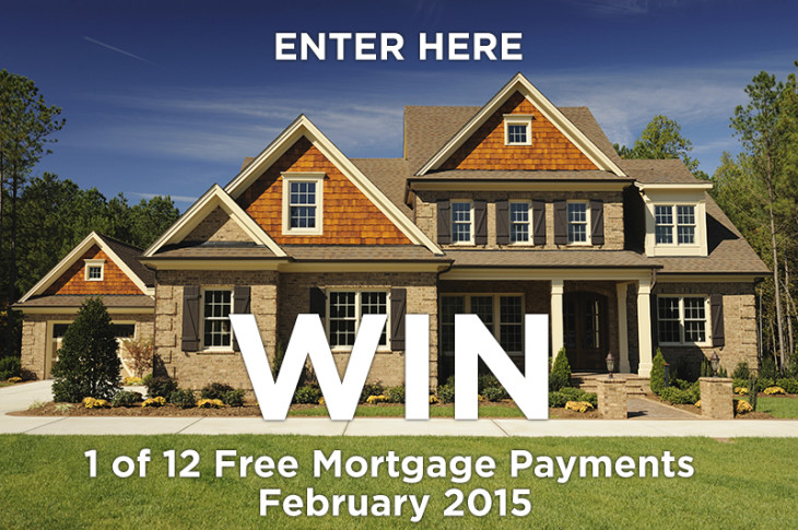 Free Mortgage Payment for February 2015 – Enter Here