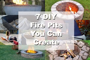 7 DIY Fire Pit Ideas