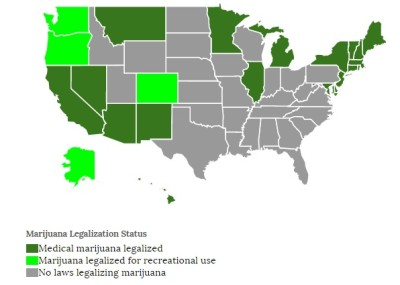 Marijuana Laws by State 2015