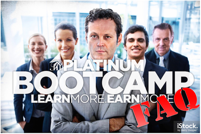 platinum bootcamp FAQ