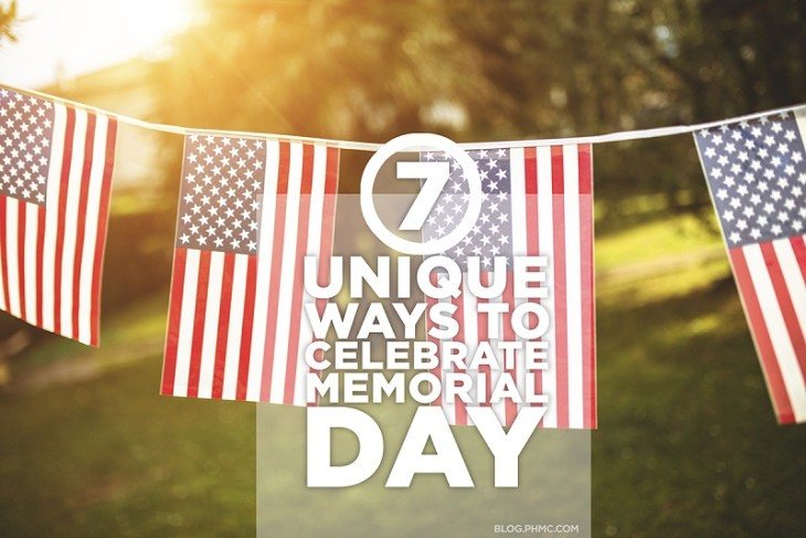 7 Unique Ways to Celebrate Memorial Day