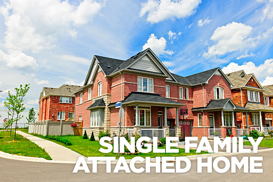 SingleFamily style Townhome