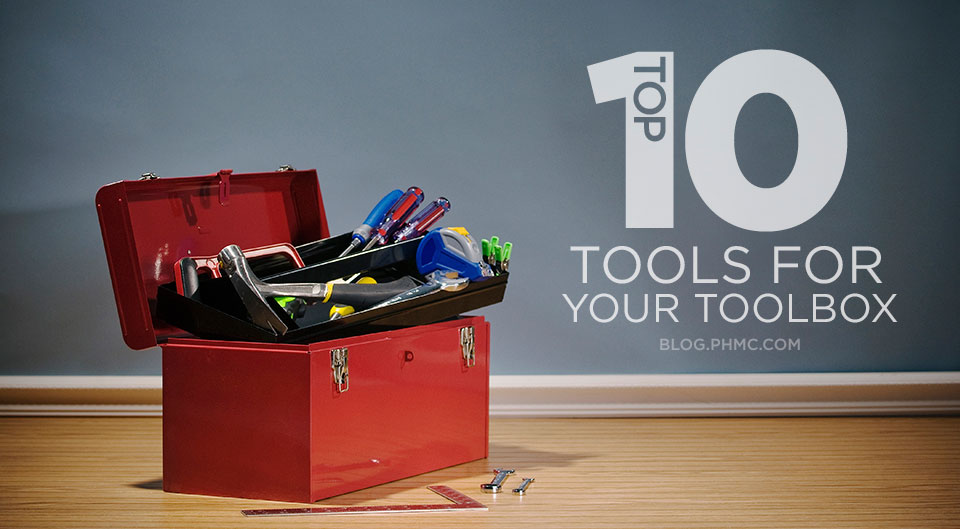 Top 10 Tools for your Toolbox