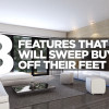8 Features that will Sweep Buyers off their feet