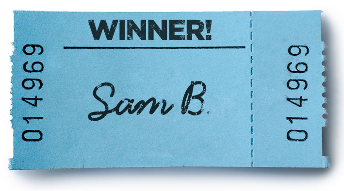 Sam B is the June 2015 Free Mortgage Payment Winner