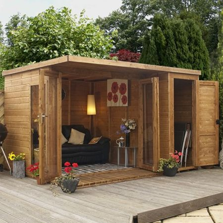 She said she wants a she shed platinum home mortgage for Diy office shed
