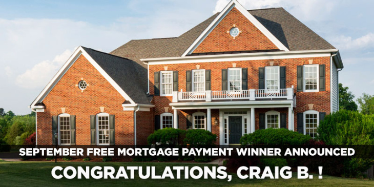 September Free Mortgage Contest Winner: Craig B. | blog.phmc.com