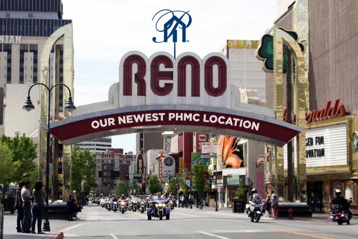 Our Newest phmc Location: Reno, NV