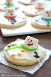 Melting-Snowman-Cookies-