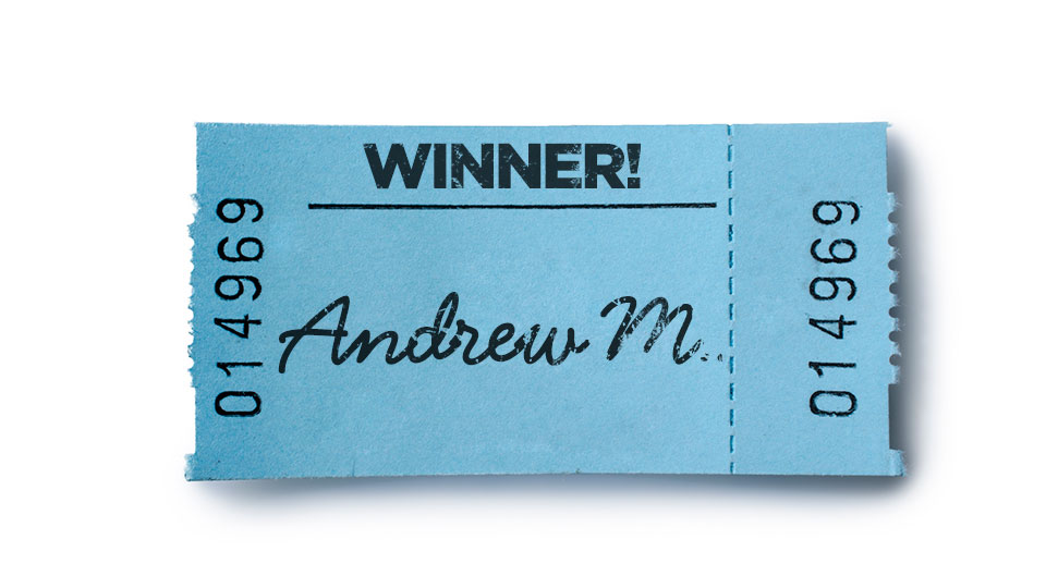 October 2015 Free Mortgage Payment Winner: Andrew M.