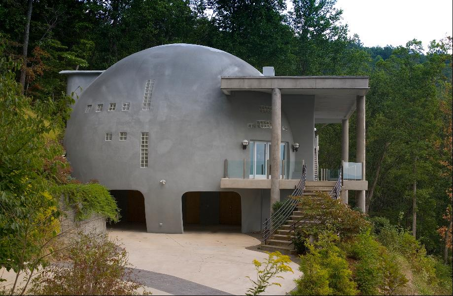 Monolithic Modern Home - Asheville NC