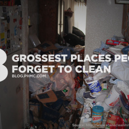 8 Grossest Places People Forget to Clean