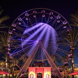 Giant Wheel at Irvine Spectrum Center