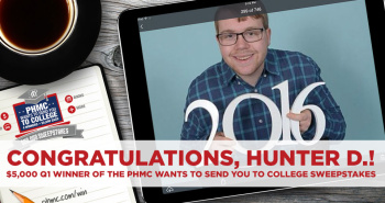 PHMC Wants to send you to College Winner: Hunter D