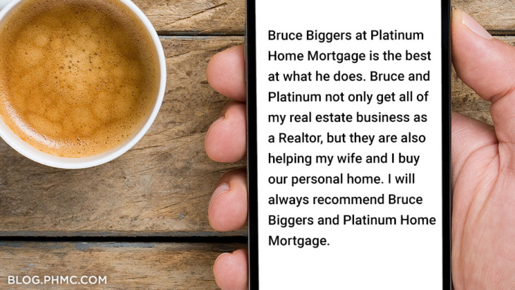 Platinum Home Mortgage customer review: Bruce Biggers | blog.phmc.com