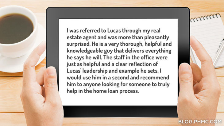 Platinum Home Mortgage customer review: Lucas Schell | blog.phmc.com