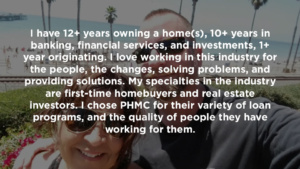 Tod Myerscough has extensive background in the mortgage industry | blog.phmc.com