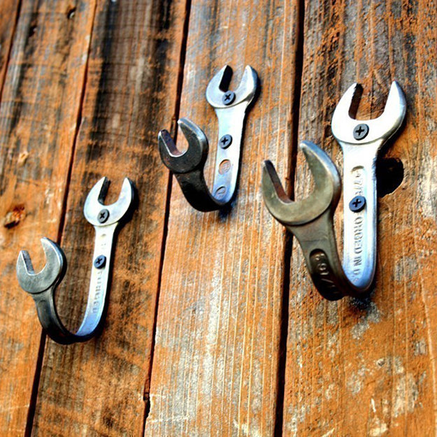 Wrench, Hangers, Wood