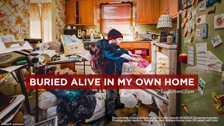 Buried Alive in my Own Home | blog.phmc.com