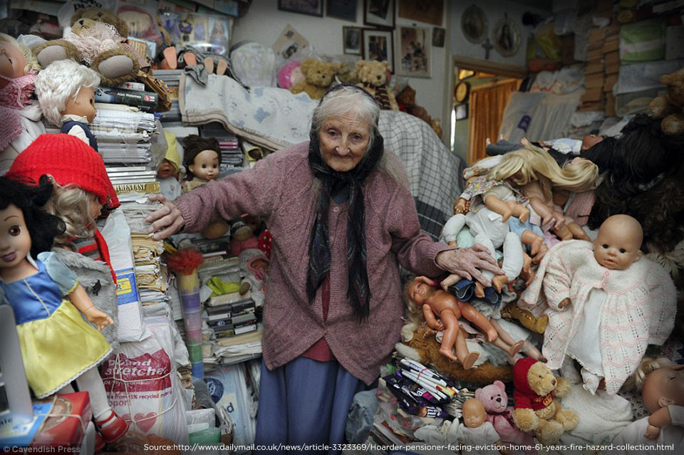Woman in Hoarded Home | blog.phmc.com
