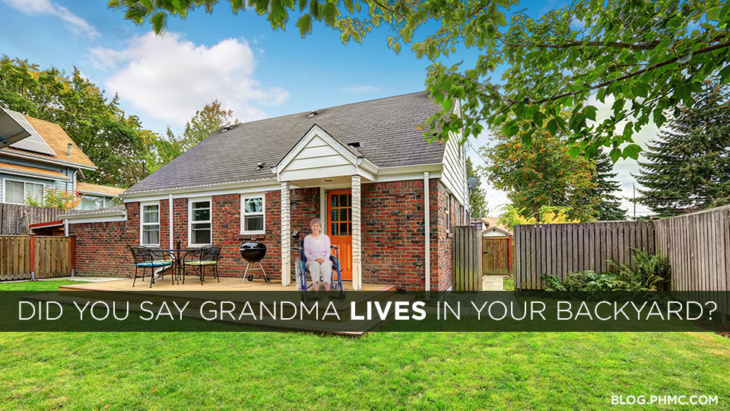 Wonderful Did You Say Grandma Lives In The Backyard? | Blog.phmc.com. Exterior Granny  Pod ...