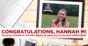 PHMC Wants to Send you to College: Quarter 2 Winner | blog.phmc.com