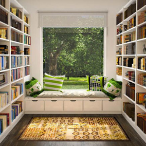 Shop here to transform your empty nest platinum home for Mini library at home