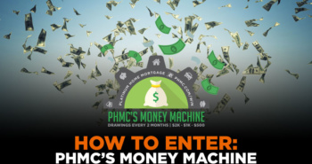 How to Enter PHMC's Money Machine | phmc.com/win