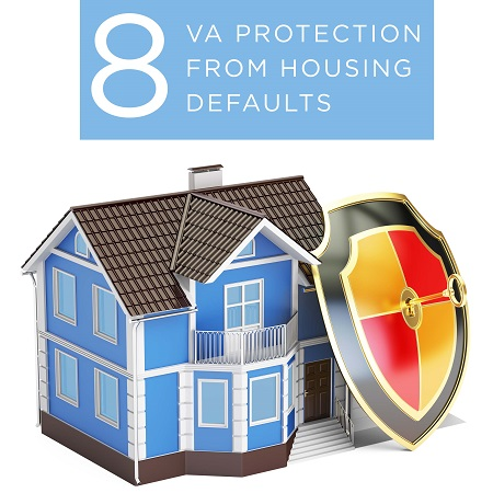 When a VA-guaranteed home loan becomes delinquent, VA provides supplemental servicing assistance to help cure the default. Click here to find more information about the Servicemembers Civil Relief Act. Find this image on blog.phmc.com