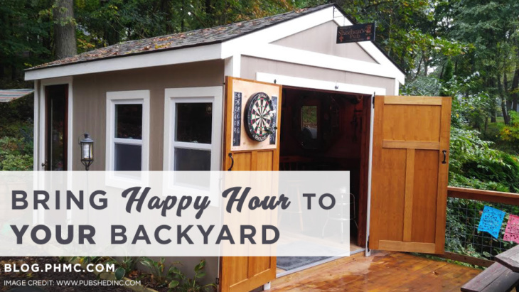 Pub Sheds: Bring Happy Hour to YOUR Backyard – Platinum Home Mortgage
