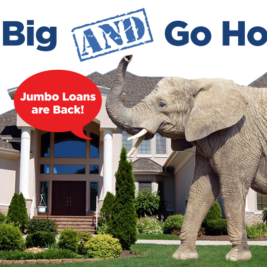 High Cost conforming and jumbo home loans are back. Homeowners wanting to buy homes over $453,100 now have more options. Find this image on blog.phmc.com