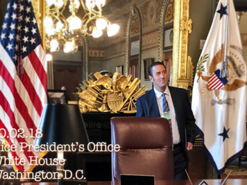William Gimbrone in Vice President Mike Pence's Office