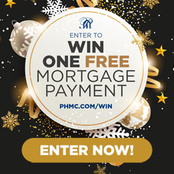 Enter to win one free mortgage payment!