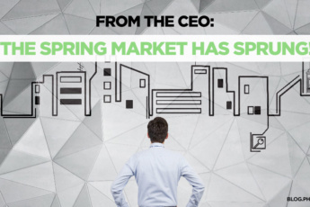 From the CEO: Spring Market has Sprung | blog.phmc.com