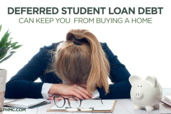Deferred Student Loan Debt can Keep you from Buying a Home | blog.phmc.com