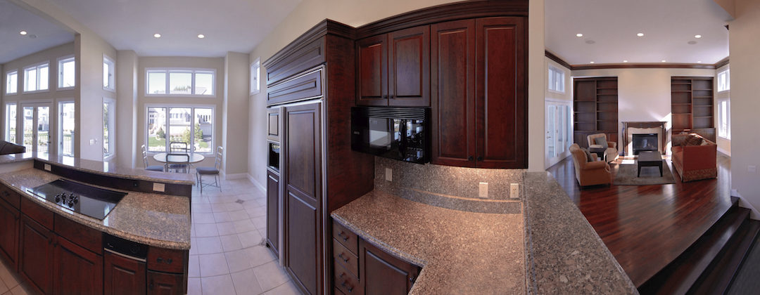 For the love of Apps: Capture Life with Cycloramic.  Panoramic Kitchen Interior.