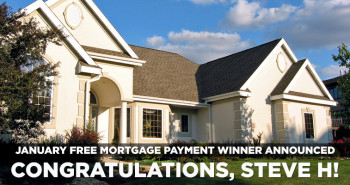Free Mortgage Payment January 2015 Winner