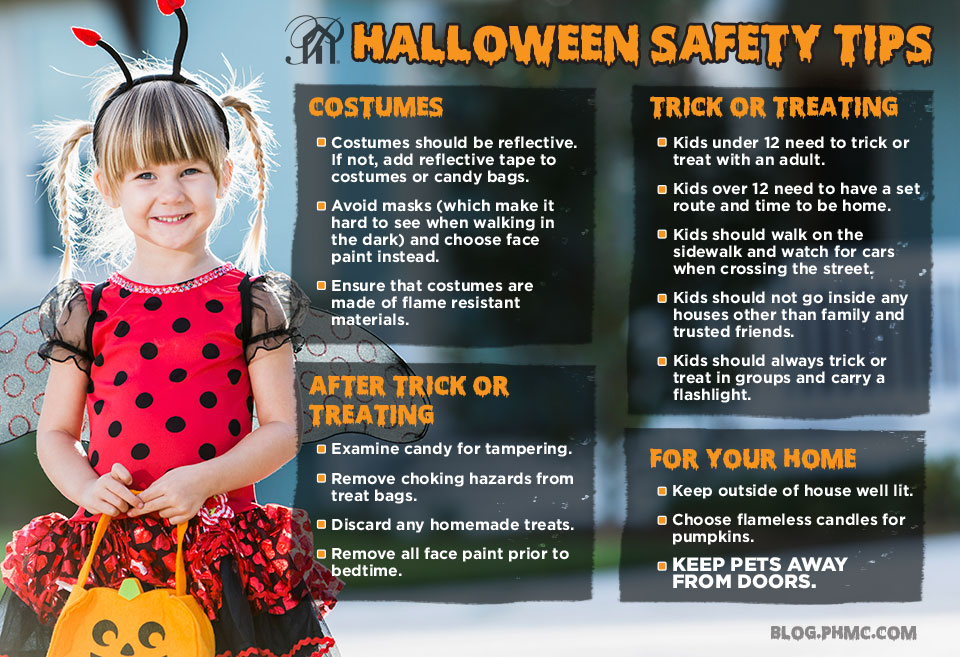 Halloween Safety 101 | blog.phmc.com