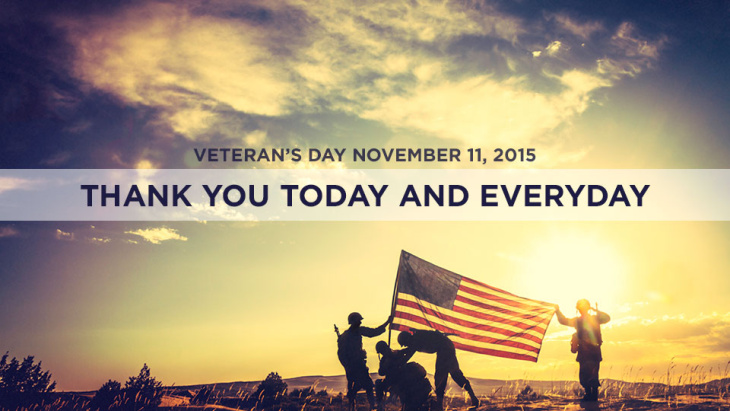 Happy zVeteran's Day from PHMC
