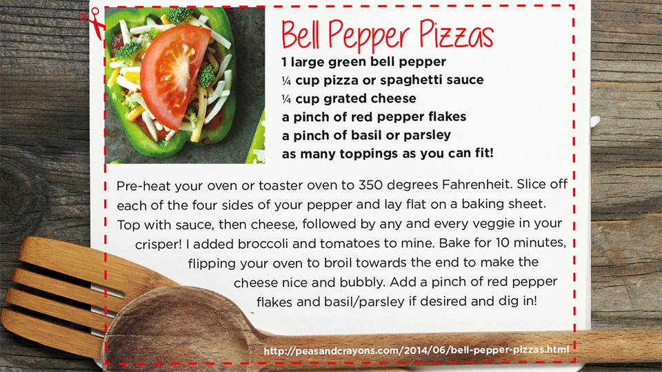 Bell Pepper Pizza | blog.phmc.com