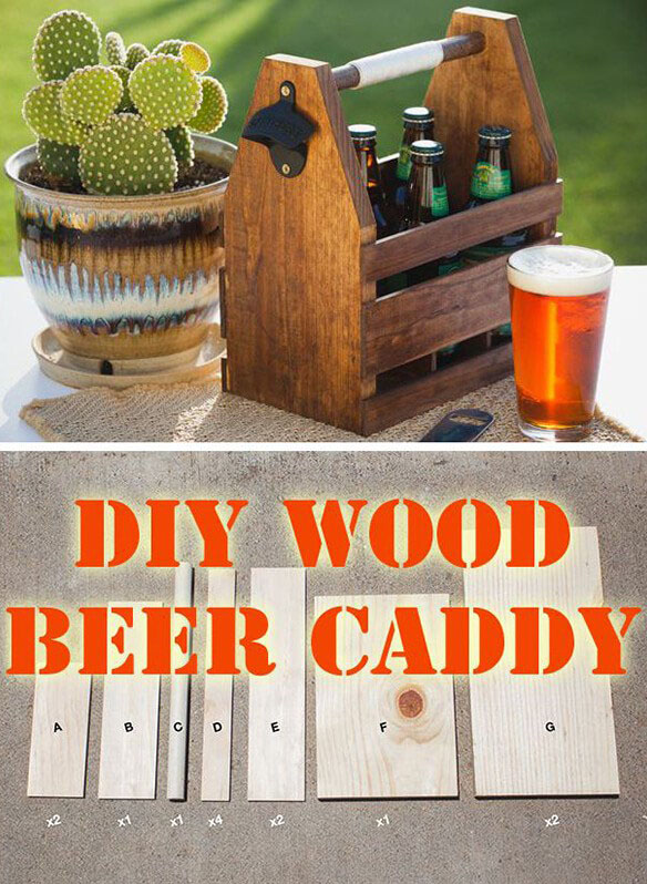 wood, beer, caddy, DIY, Cactus, green
