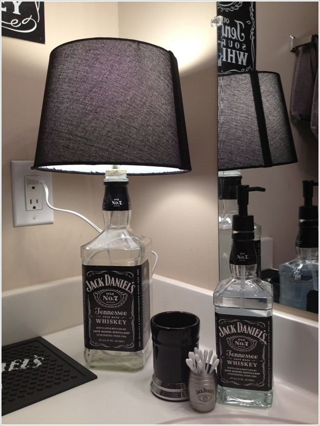 Jack Daniels, Lamp, Soap Dispenser
