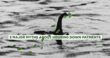 3 Major myths about Housing Down Payments | blog.phmc.com