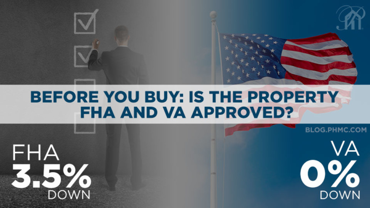 Before you Buy: Is the Property FHA and VA Approved? | blog.phmc.com