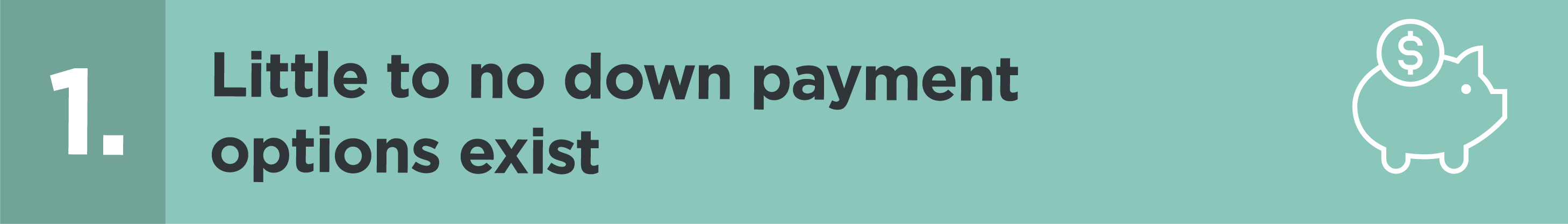 Little to no down payment options exist | blog.phmc.com