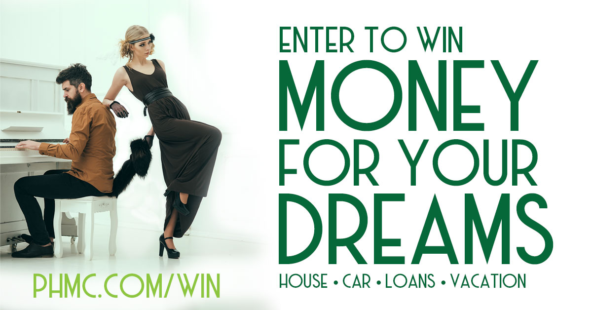 enter to win money for your dreams